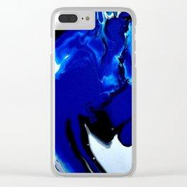 Superman Blue Clear iPhone Case