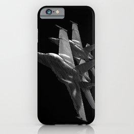 US Military Fighter Attack Jets iPhone Case
