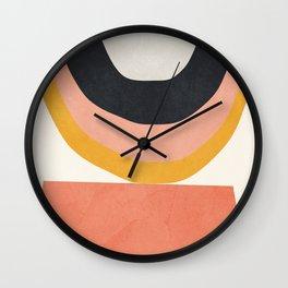 Abstract Art 8 Wall Clock