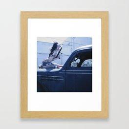 Whipped Cream Chola Framed Art Print
