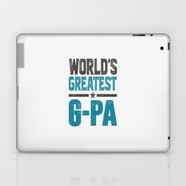 Gift for G-Pa Laptop & iPad Skin