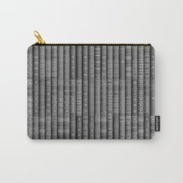 Keep Reading B&W Carry-All Pouch