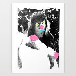 Clown it Art Print