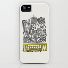 New Orleans City Cityscape iPhone Case