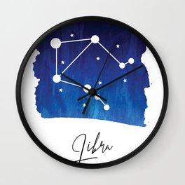 Libra Zodiac Wall Clock
