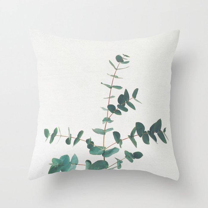 Eucalyptus Throw Pillow