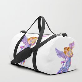 The Antique Angel Muse - Love of Poetry Duffle Bag