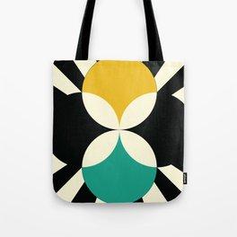 Radial Bloom Tote Bag