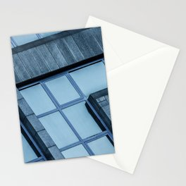 Abstract View of Modern Buildings Stationery Cards