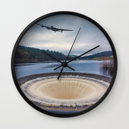 Dam Runner Wall Clock