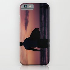 Surfing at Dawn in Cocoa FL USA iPhone 6s Slim Case