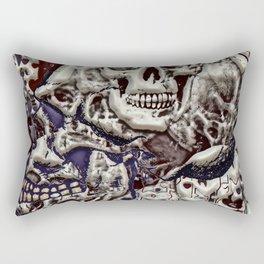Skulls 3d Rectangular Pillow