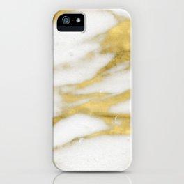 Bari golden marble iPhone Case