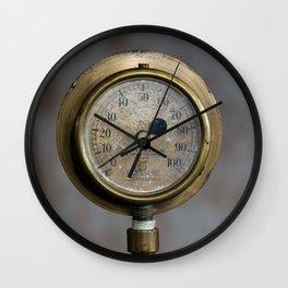 No pressure Wall Clock