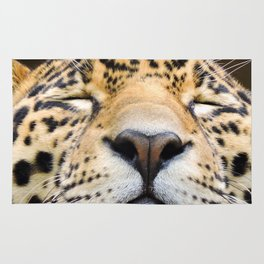 Sleeping Jaguar Rug