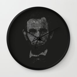 A Type of Lincoln Wall Clock