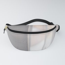 White curtains Fanny Pack