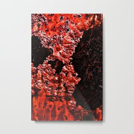 Red Red Rust Metal Print
