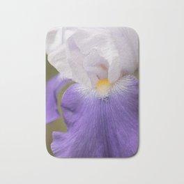 Bearded Iris Planeur Bath Mat