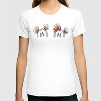 minnie mouse T-shirts featuring Mickey and Minnie Mouse.  by Christa Morgan ☽