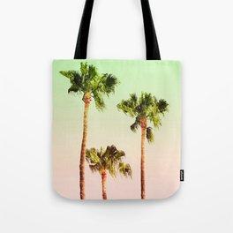 PASTEL PALM TREES Tote Bag