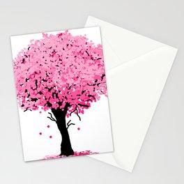Sakura Tree Stationery Cards
