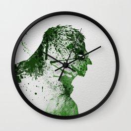 Irritated Wall Clock