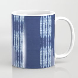 Shibori scratched Coffee Mug
