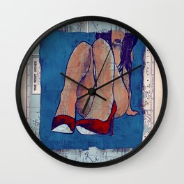the west indies Wall Clock
