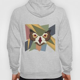 Owl Abstract Hoody
