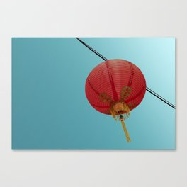 Chinese Lantern in Chinatown LA Canvas Print