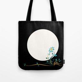Moonlightflower Tote Bag