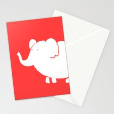 White Elephant Stationery Cards