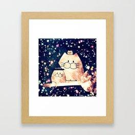 cats hlloween 33 Framed Art Print