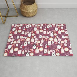 Alice in Wonderland - Purple Madness Rug