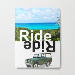 RIDE ISLAND BAHAMAS Metal Print