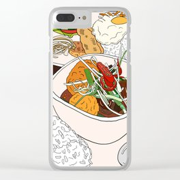 Vietnamese Food Treat Clear iPhone Case