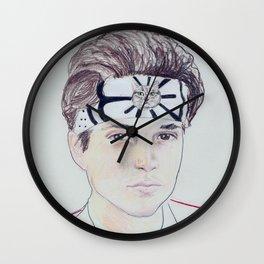 7. The Karate Ping Wall Clock