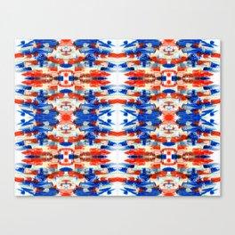 kaleidoscope ethno art smears Canvas Print