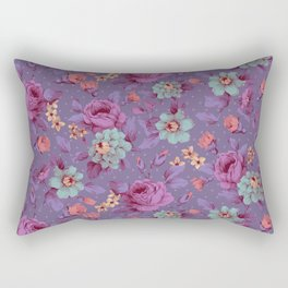 Hopeless Romantic - lavender version Rectangular Pillow