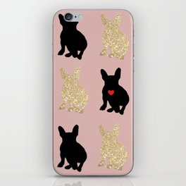 Dazzling French Bulldogs iPhone Skin