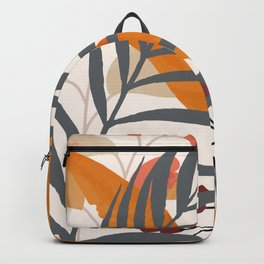 Colorful Red Leaves Backpack