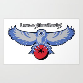 Limbo Silverhawks Art Print