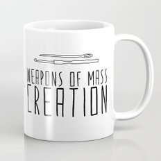 Weapons Of Mass Creation - Knitting Mug