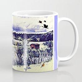 The Countryside In New York Coffee Mug