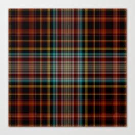 Tartan pattern Canvas Print