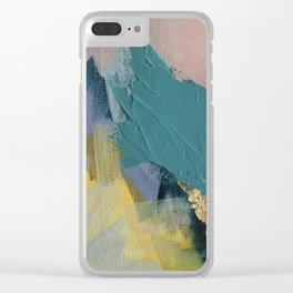 Slower Nights Clear iPhone Case