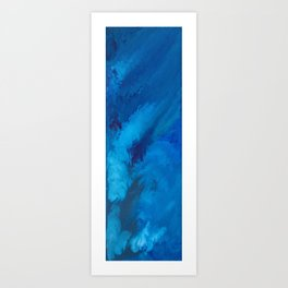 001 Phthalo Blue Art Print