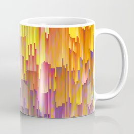 Vibrant Rainbow Cascade Design Coffee Mug