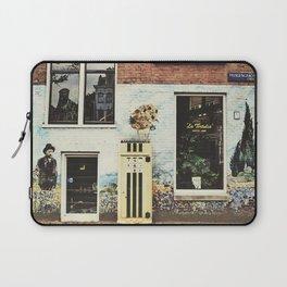 Van Gogh coffee shop Laptop Sleeve
